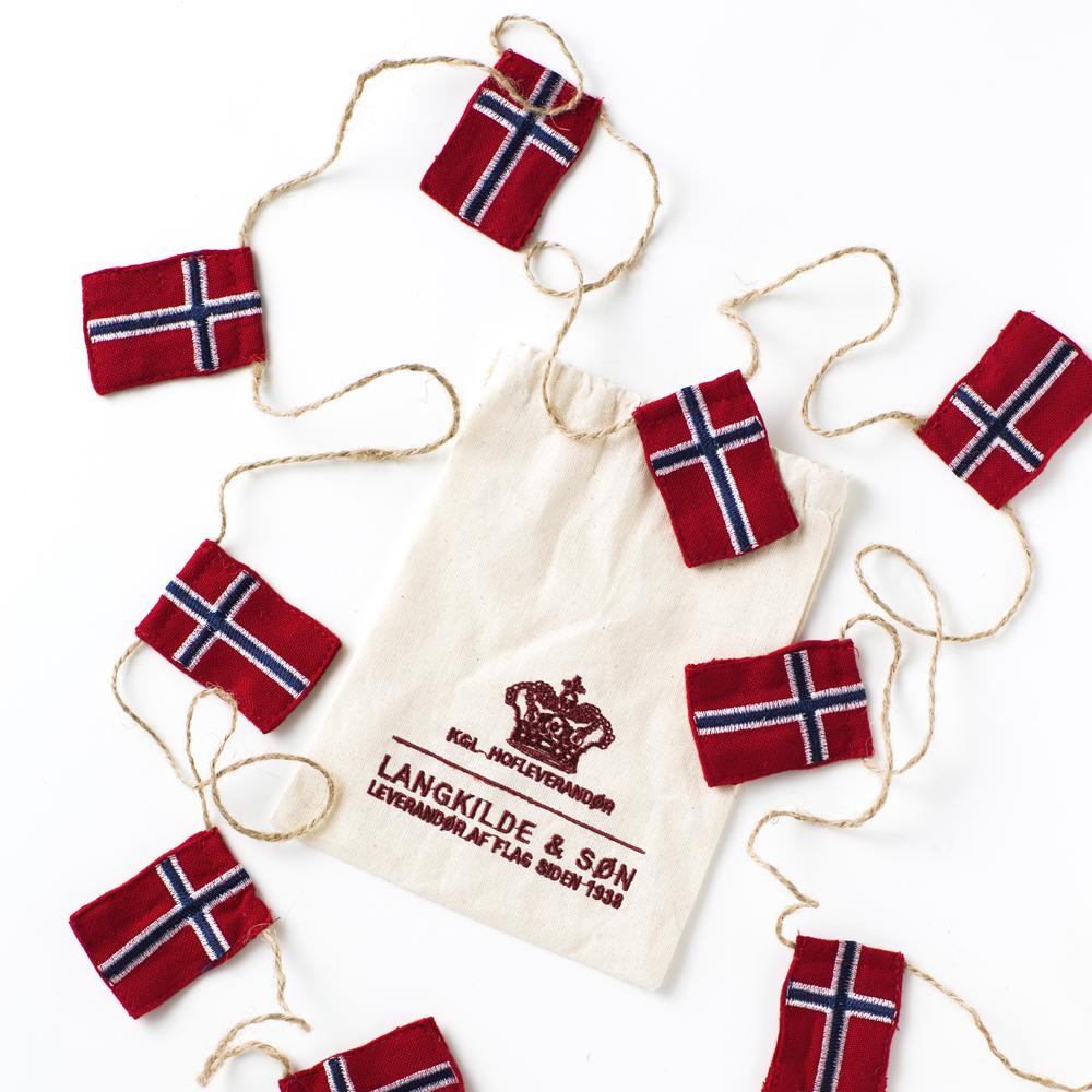 norske flagg til juletre