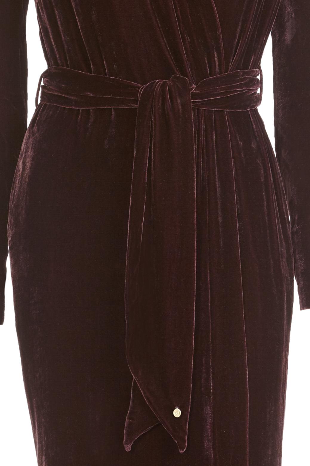 Classic Aubergine Silk Velvet - Shop all - Vibeke Scott