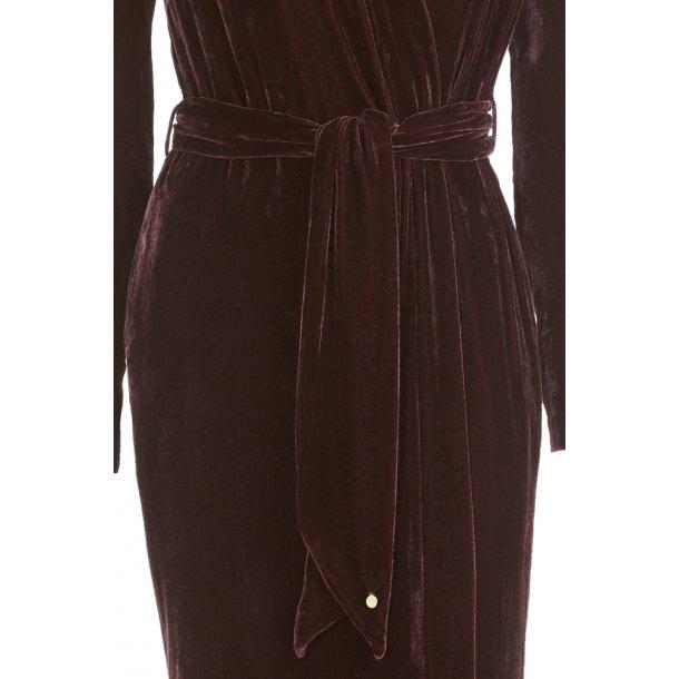 Classic Aubergine Silk Velvet