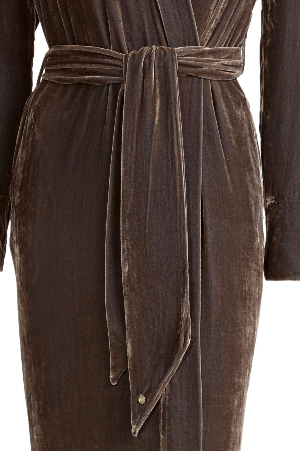 Classic Nougat Silk Velvet - Shop all - Vibeke Scott