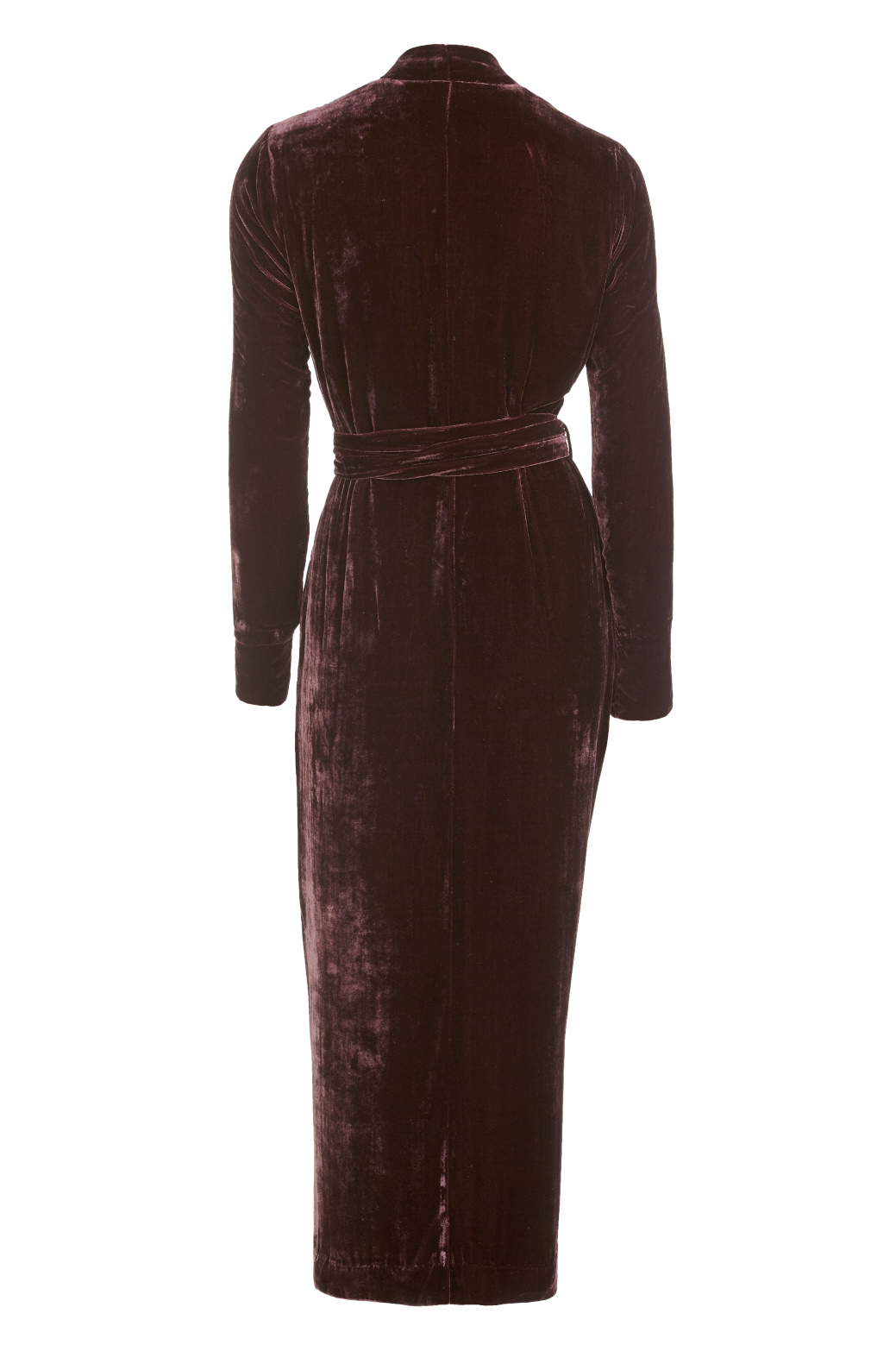Classic Aubergine Silk Velvet - Shop all - Vibeke Scott