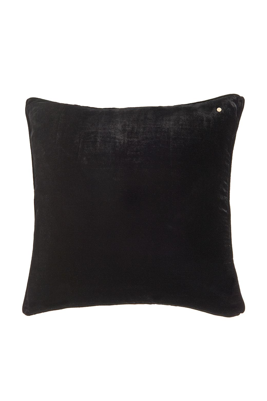 Coal silk velvet pillow - Shop all - Vibeke Scott