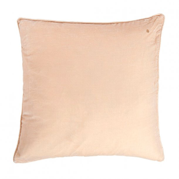 Stone silk velvet pillow