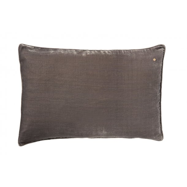 Jade silk velvet pillow