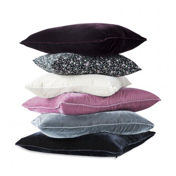 Jade silk velvet pillow