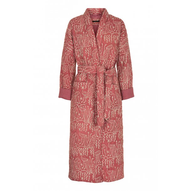 Simini dusty rose quilted cotton