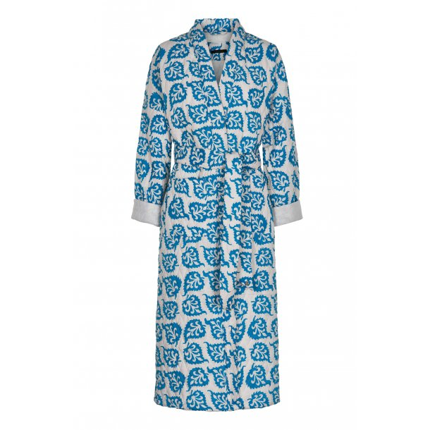 Simini light blue quilted cotton