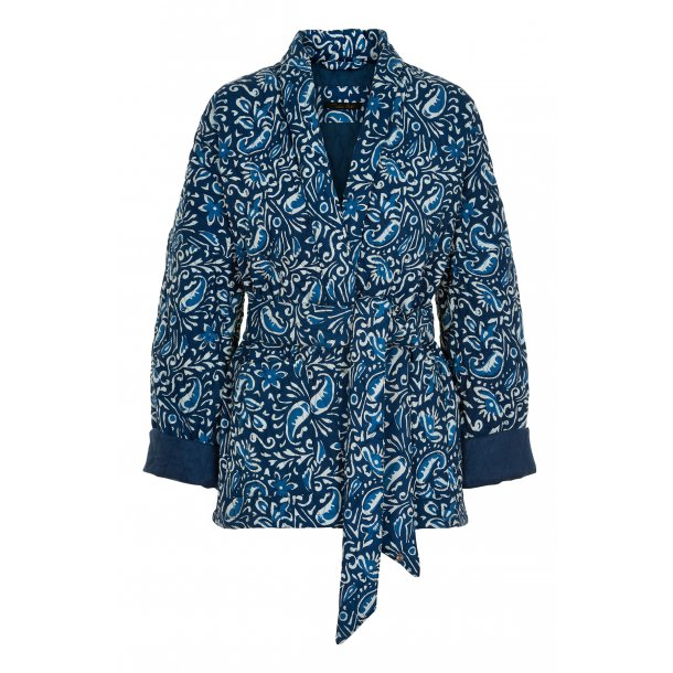 Simi Blue quilted cotton