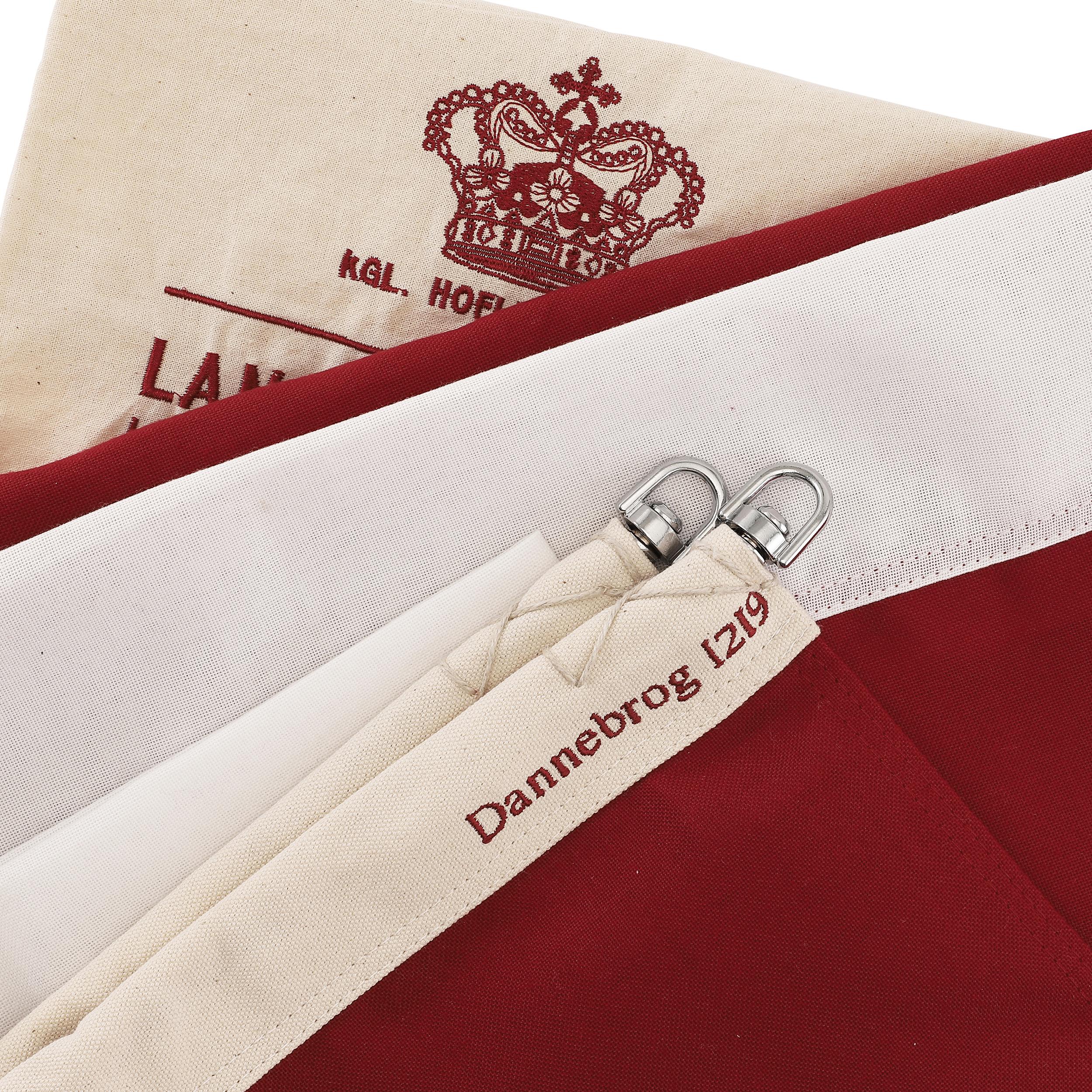 Afholte Jubilæums flag i luksuskvalitet - køb Dannebrogsflag hos Langkilde DS-96