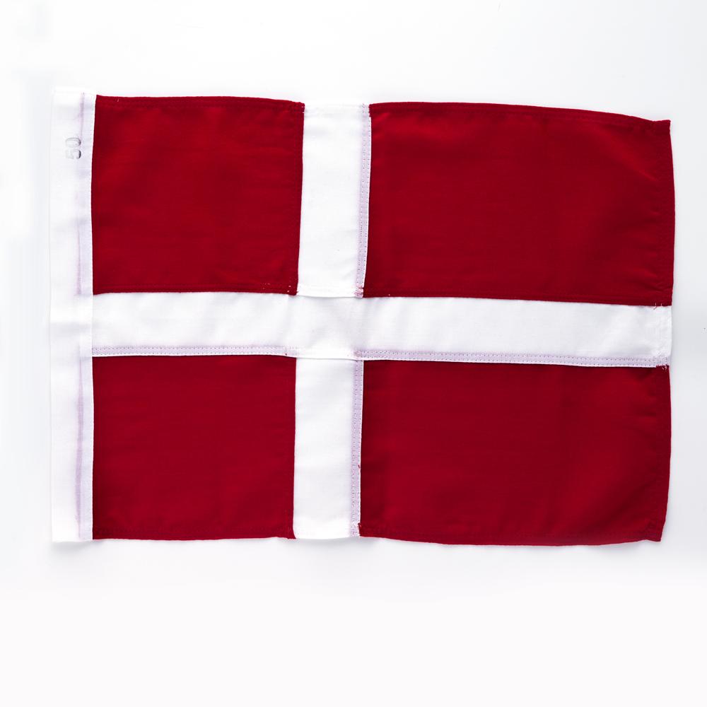 69b7f44e Ekstra dansk flagg til balkong/fasadestang - Balkong/fasadeflagg - Langkilde  & Søn
