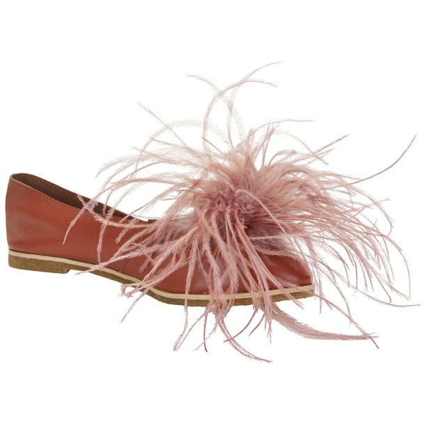 Grace Slipper Cognac