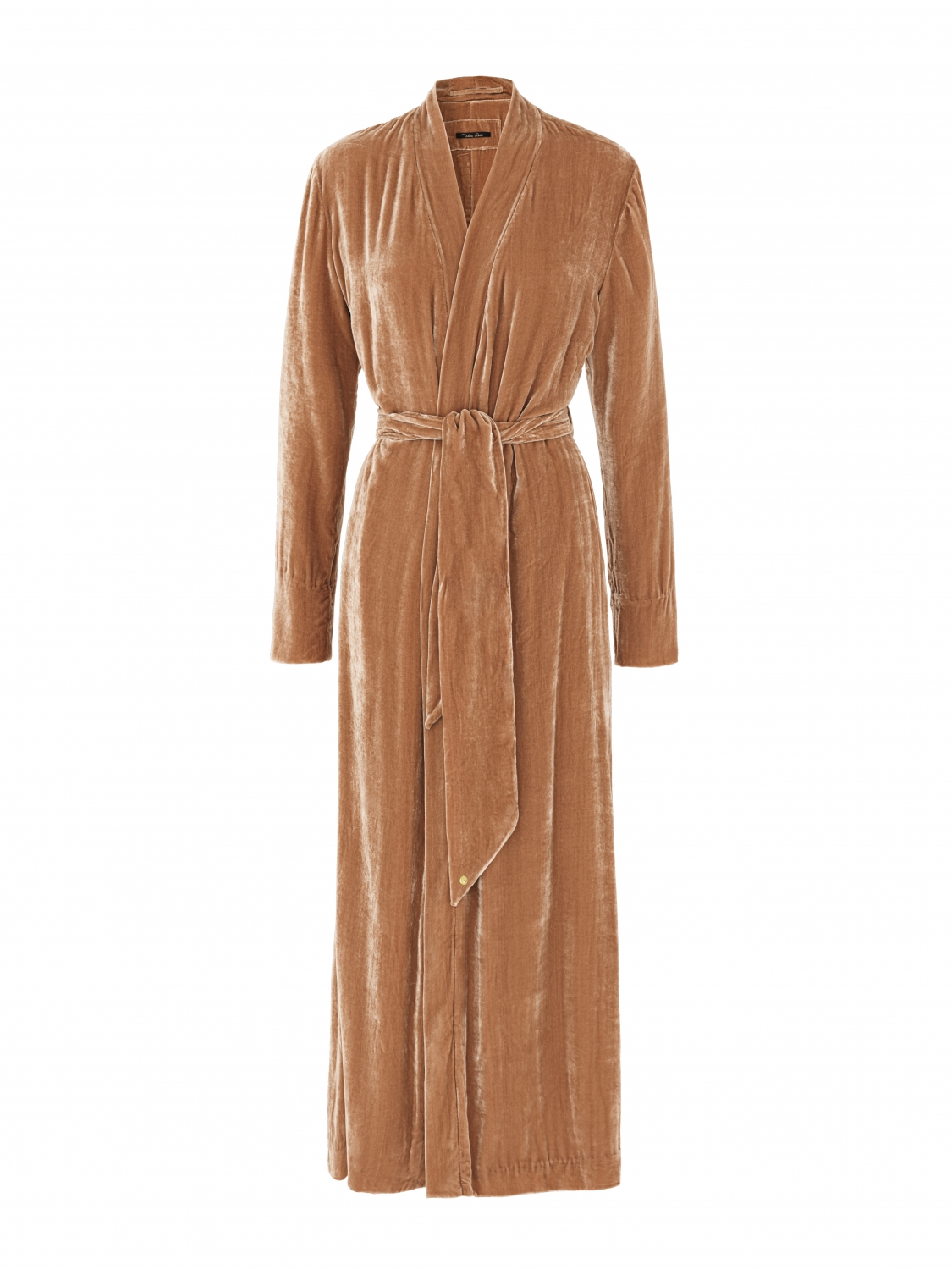 Luxury Dressing Gown Copper silk velvet - Shop all - Vibeke Scott
