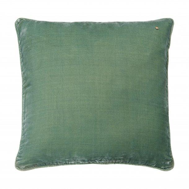 Jade cozy silk velvet pillow