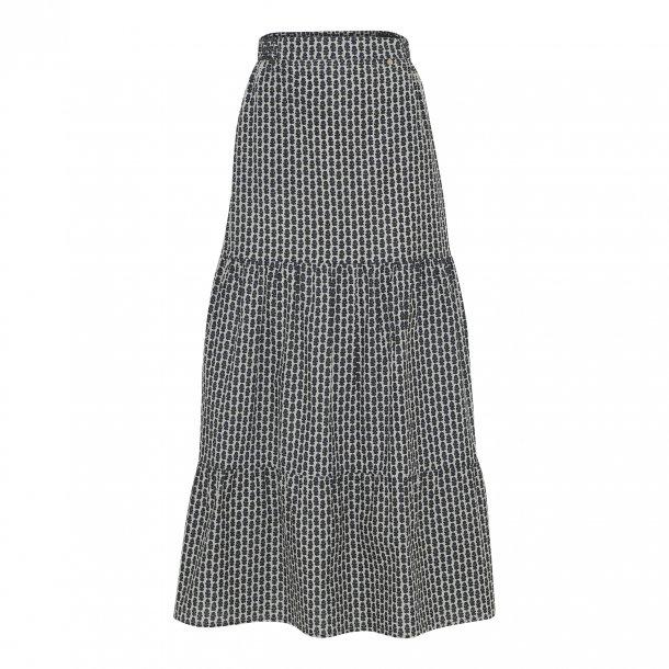 Carmen Hand print Long Skirt