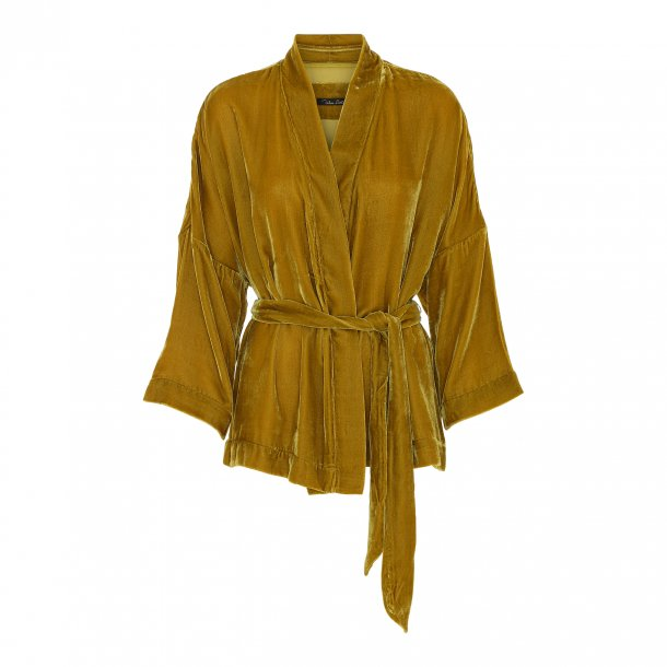 Simono Goldenrod Silk Velvet