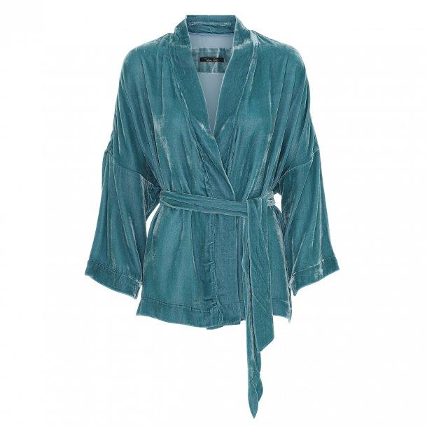 Simono Nordic blue Silk Velvet