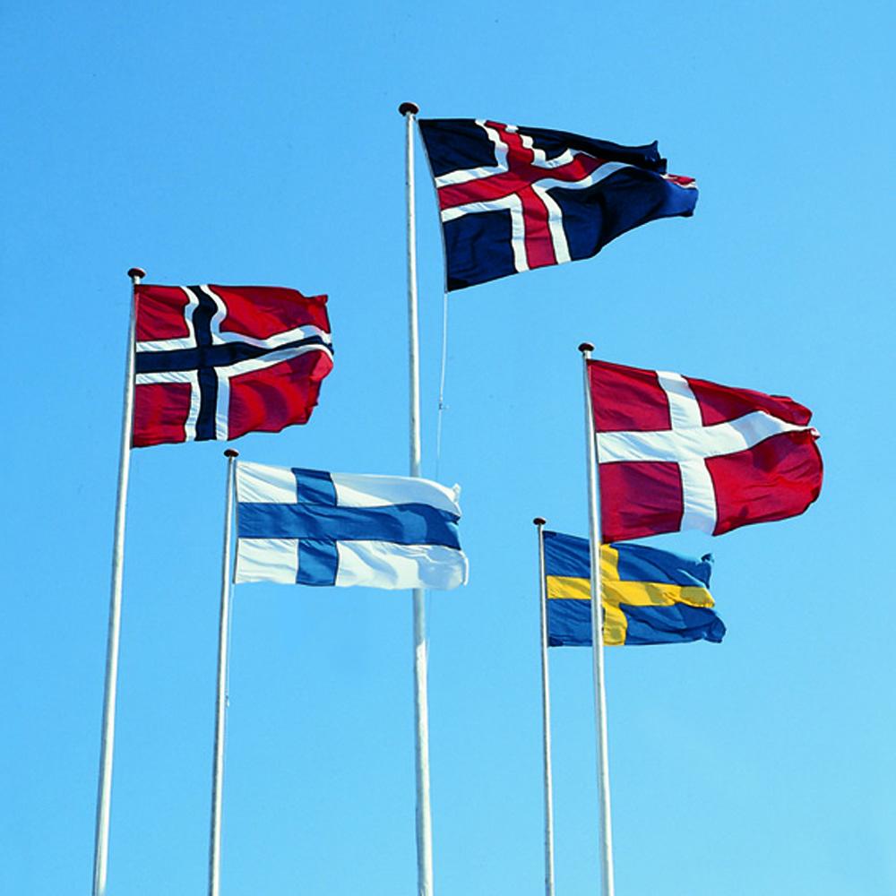 79258b5e Internasjonale flagg - Langkilde & Søn