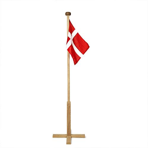 Vellidte Fødselsdagsflag i stof - flotte stofflag i ægte flagdug. LM-53