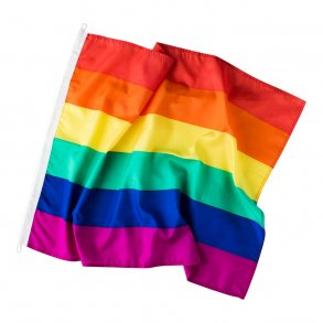 Gay pride flaget